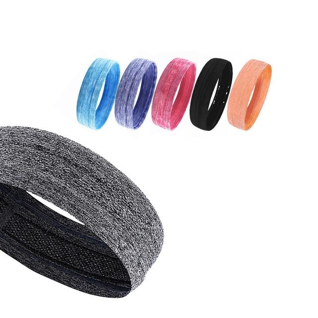 Sports Fitness Headband Sweat-absorbent Belt Non-slip Yoga Headband Headband Sport  Winter Headband Men 4