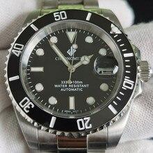 Montre homme 100M étanche lumineux Sport natation montre-bracelet pour hommes automatique NH35A mouvement Date relojes hombre