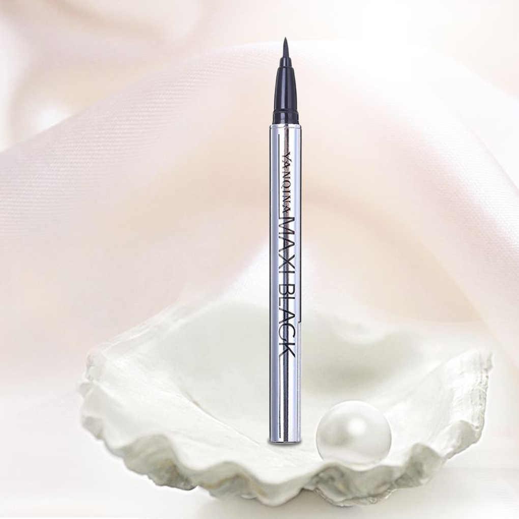 Nova marca feminina meninas preto líquido delineador de longa duração à prova dwaterproof água lápis de forro de olho