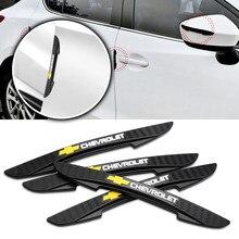 4 PIÈCES Voiture Rétroviseur Côté Porte Bord De Protection Anti-rayures Bandes Autocollant Pour Chevrolet Cruze Captiva Camaro Étincelle Aveo