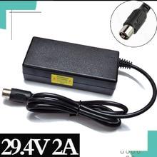 29.4V 2Acharger for 24V 25.2V 25.9V 29.4V 7S lithium battery pack 29.4V recharger e bike charger RCA Steckverbinder+High qualit