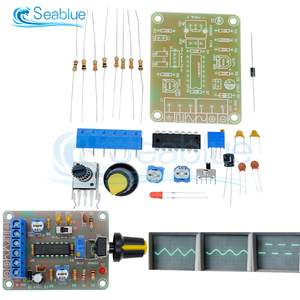 DC 12V 50-5KHz ICL8038 Monolithic Function Signal Generator Module Sine Square Triangle Welded DIY Kit Sine Square Triangle