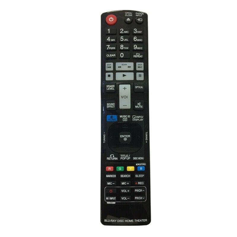 Novo controle remoto apto para lg dvd sistema de cinema em casa akb73775604 akb73655501 akb73375501 hx906pa lhb755w bh9540tw