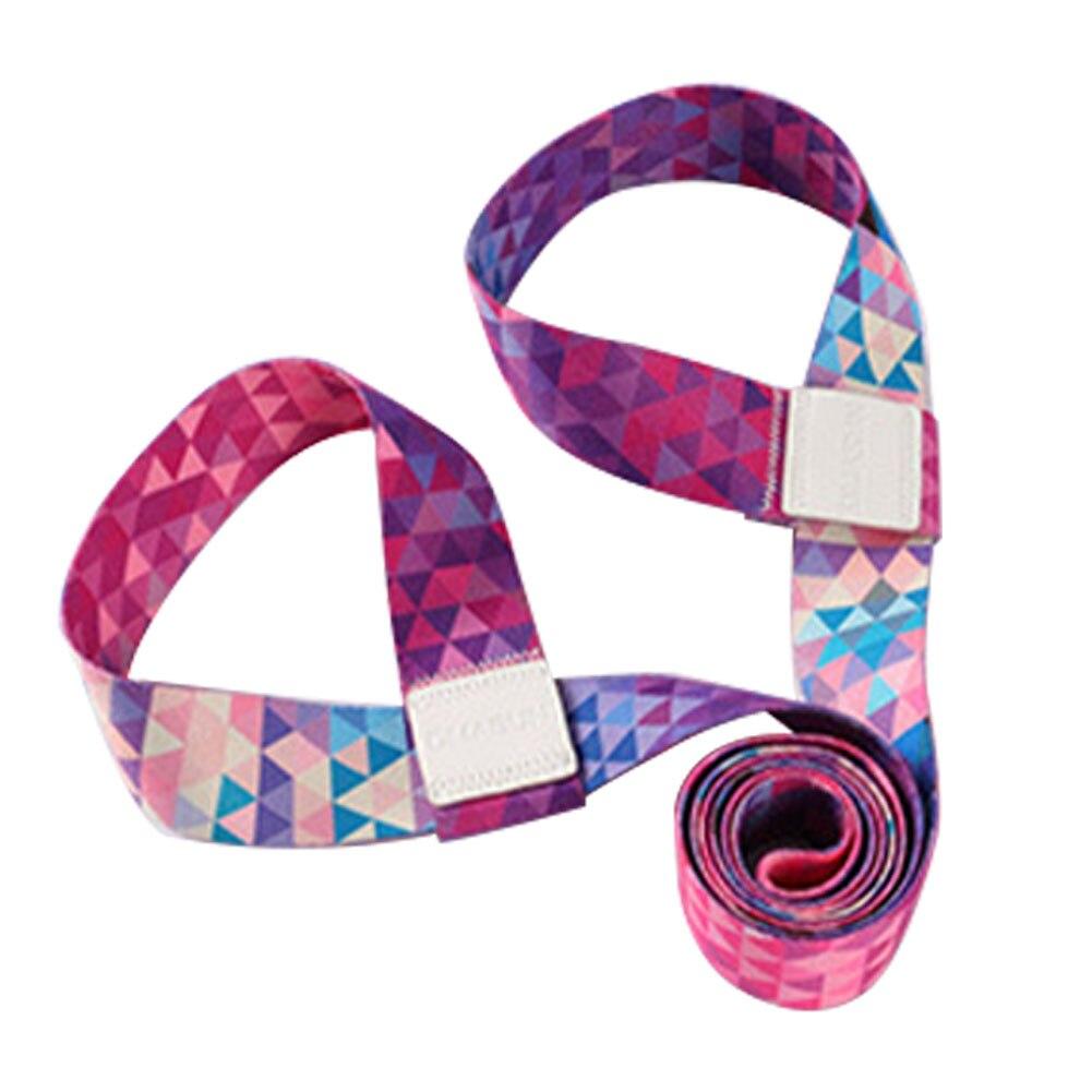 Эластичный переносной Мат для йоги на лямках для занятий спортом и фитнесом регулируемый ремень для бодибилдинга Универсальный
