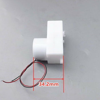 Mini 300 Gear Motor Plastic Shell Electric DC 6V-12V 7.2V 9V 30RPM Gearbox Slow Speed Gearwheel Reducer DIY Robot Toys Cars Boat image