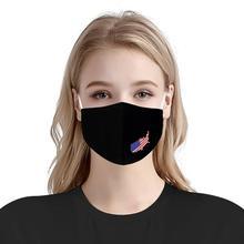Пользовательский шаблон многоразовые рот лицо чехол США американский флаг удобная анти-пыль анти-слюна фильтр анти-инфекции ветрозащитный нас
