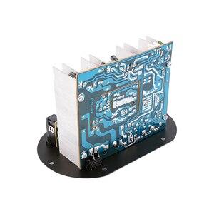 Image 5 - AOSHIKE amplificateur Bluetooth à double Microphone, panneau damplificateur 12V 24V 220V pour caisson de basses de 5 10 pouces, haut parleur bricolage