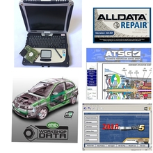 2020Auto Hot Koop 1Tb Hdd Alldata Laptop Alldata 10.53 Mitchel. L OD5 Reparatie Software Atsg Levendige Workshop Data Geïnstalleerd In CF19