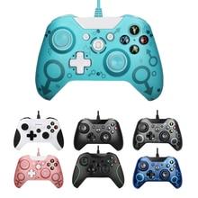 Wired Controller USB joysticks para Xbox One S Video juego Mando para Microsoft Xbox One Slim control juego para Windows PC Gamepad