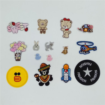 High quality iron patch Badge ironing Clothes Hot Stickers DIY Embroidery Children's Clothing Stripe Patch Sewing Accessories image