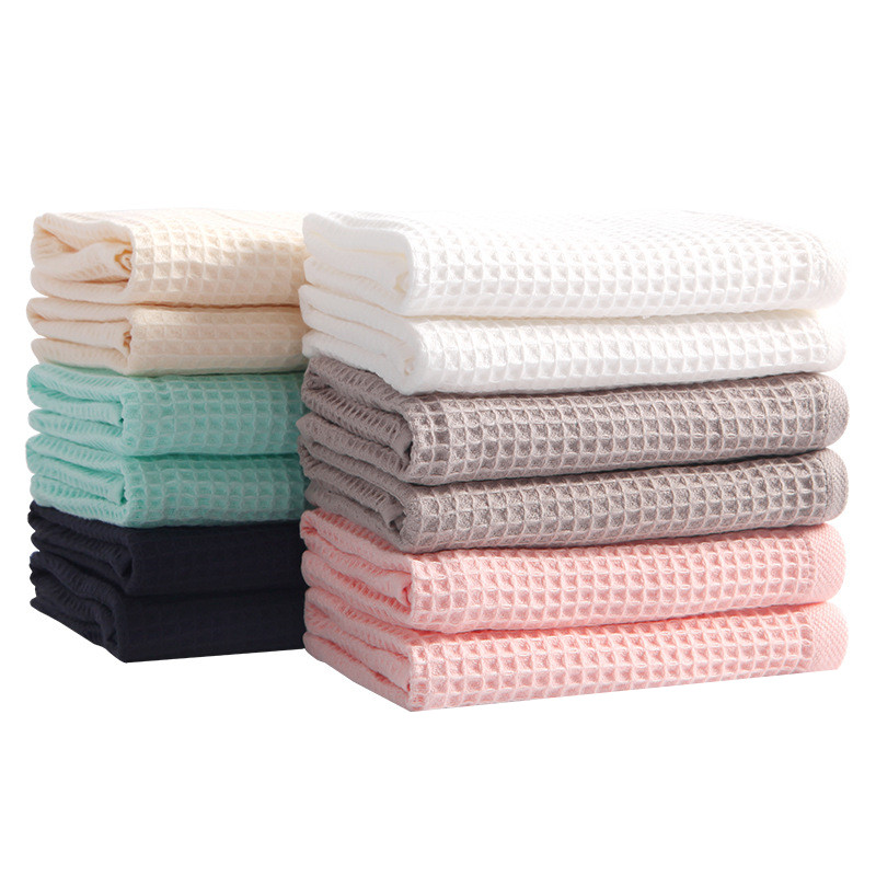 Cotton Waffle Baby Blanket Cotton Gauze Summer Blanket for Adult Kids Baby Use Wrap Blankets 70x140cm