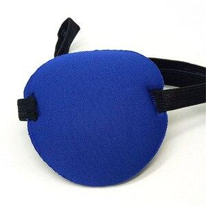 Image 5 - Uitstekende Kwaliteit Nieuwe Gebruik Concave Eye Patch Bril Schuim Groef Wasbare Eyeshades Verstelbare Riem 4 Kleuren