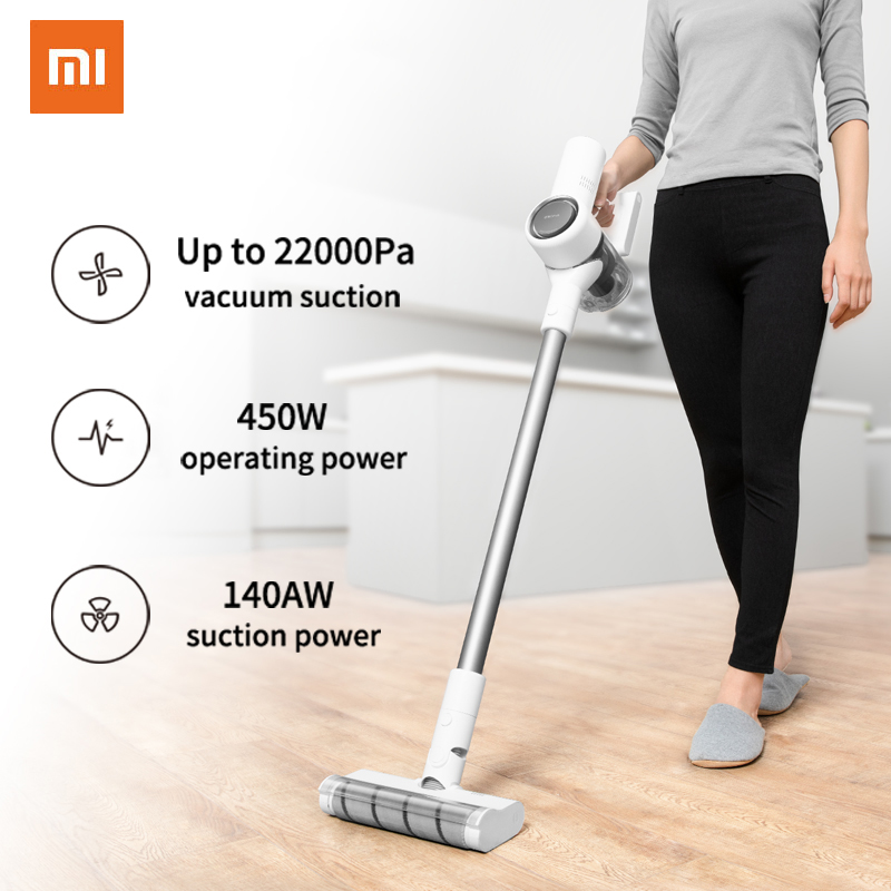 Xiaomi Wireless Cyclone Filter Dreame V10 Handheld Cordless Mi Carpet Sweep Dust Collector Home Vacuum Cleaner Portable