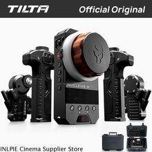 Bezprzewodowy kardanowy system sterowania TILTA WLC T03 NUCLEUS M, podążanie, ostrość, obiektyw, dla 3 osiowego gimbala dla Arri RED Tilta Max DJI RONIN S