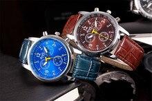 2020 Горячая Распродажа Роскошные Часы Мода Кожаные Мужские Кварцевые Часы Наручные Часы Темперамент Хороший Подарок Дропшиппинг Высокое Качество Часы