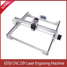 6550 Laser Engraver 15W CNC Laser Engraving Machine Work Area 65cm*50cm Wood Router Machine with Offline Controller