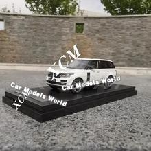 Modelo de coche fundido para modelos LCD 1: 64 (blanco) + ¡pequeño regalo!