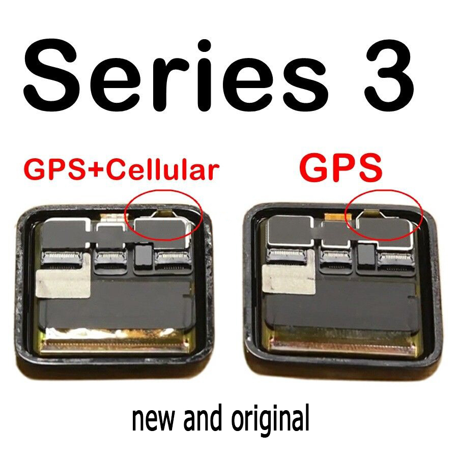 Original gps + celular lcd para apple