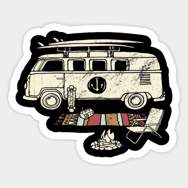 The Best Memories Are Made Camping Car Window Decal Sticker