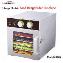 ST04 electric food dryer dehydrator commercial Snacks Dehydration Dryer stainless steel Fruit Vegetable Herb Meat Drying Machine цена и фото