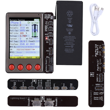 Nowy tester kabli USB tester baterii dla iPhone XS XR XS Max X 8 8P 7 7P 6S 6 5 kontroler baterii dla androida klucz wyczyść cykl