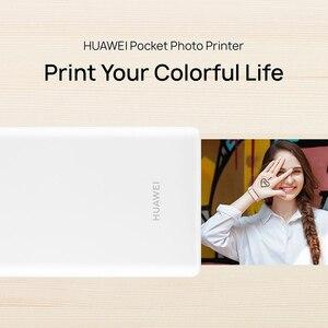 Image 5 - Huawei המקורי AR נייד מדפסת תמונה כיס מיני מדפסת DIY תמונה מדפסות עבור טלפונים חכמים Bluetooth 4.1 300dpi מדפסת