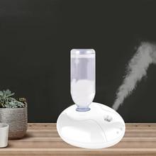 Portatil humidificador de aire USB LED luz nocturna difusor de Aroma fabricante de niebla para la humidificación de la oficina en casa