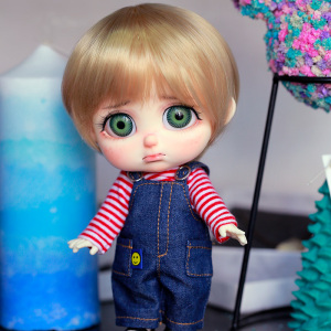 Image 1 - Dollbom Pitty 1/8 BJD SD Dolls Boy Girl Toys For Birthday Xmas Gift