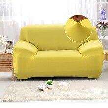 Сплошной цвет диван чехлы для гостиной комнаты полиэстер современный эластичный угол диван чехол чехлы стул протектор 1% 2F2% 2F3% 2F4 сиденье