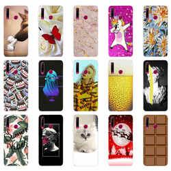 Чехол с цветами для Honor 10i, чехол для Honor 10i, силиконовый чехол с ТПУ для Huawei Honor 10i, Honor 10i, 10, i, 6,21 дюйма