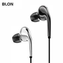 Blon t3 blt3 diamante espelho de alta fidelidade no ouvido fone 11mm composto diafragma fone com cancelamento ruído esporte fones bl01 bl03 05