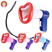 Trocador de voz engraçado gravador de alto-falante mudança de voz divertido brinquedo crianças crianças handheld mini vocal brinquedos