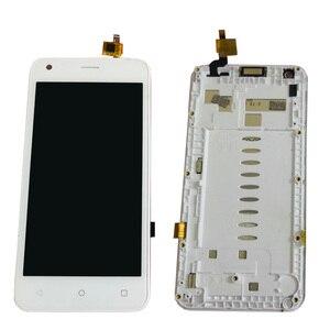 """Image 2 - 4.5 """"noir/blanc avec cadre pour Fly Nimbus 8 FS454 écran LCD avec écran tactile numériseur capteur panneau assemblée livraison gratuite"""