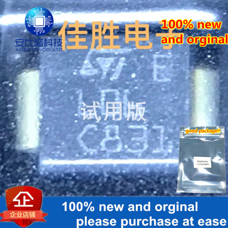 30pcs 100% New And Orginal SMP100LC-65 Lightning Protection Discharge Tube DO214AA Silk-screen L06 In Stock