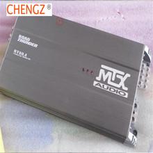 Darmowa wysyłka MTX samochodowy sprzęt audio 4 zestaw THUNDER60 4 120 Watt RMS wzmacniacz mocy samochodowy sprzęt Audio wzmacniacz basowy + zestaw okablowania tanie tanio MtruCebg