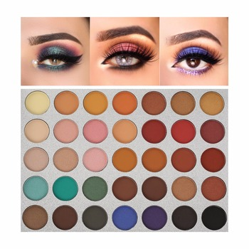 Beauty Tools Chic 35 Color New Face Makeup Eyeshadow Palette Shades Shimmer Matte Eyeshadow Pallete Cosmetics For Morphes Style 1