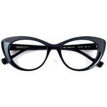 Nueva llegada de alta calidad, montura de gafas de diseño de ojo de gato de gran tamaño para mujer blogebrity debe tener