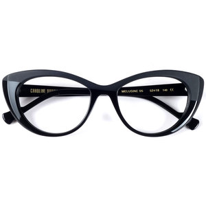 Image 1 - 최고 품질의 새로운 도착 대형 고양이 눈 디자이너 안경 프레임 여성 blogebrity 있어야합니다