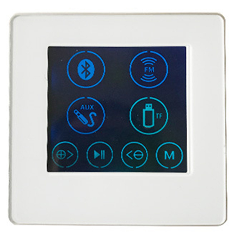 4 Inch Embedded Family Hotel Smart Home Background Music Player Host Controller Amplifier H86B