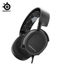 SteelSeries Arctis 3 כל פלטפורמת משחקי אוזניות עבור מחשב פלייסטיישן 4 Nintendo מתג VR אנדרואיד