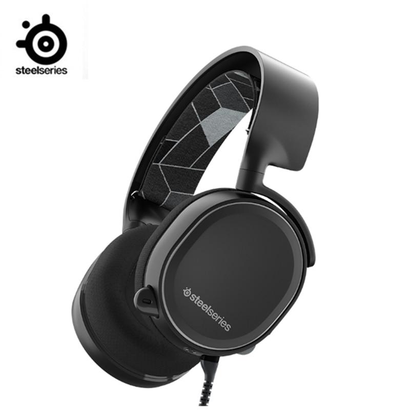 SteelSeries Arctis 3 auriculares de juego de plataforma para ordenador PlayStation 4 Nintendo Switch VR Android