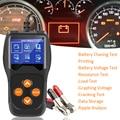 Автомобильный/мотоциклетный сканер  автомобильный диагностический инструмент  анализатор двигателя  новый аккумулятор  тестер  автомобил...