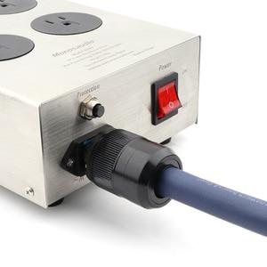 Image 5 - Monosaudio EU800 ハイファイパワーフィルター所euソケット 8 方法、ac電源コンディショナーオーディオファン電源清浄機