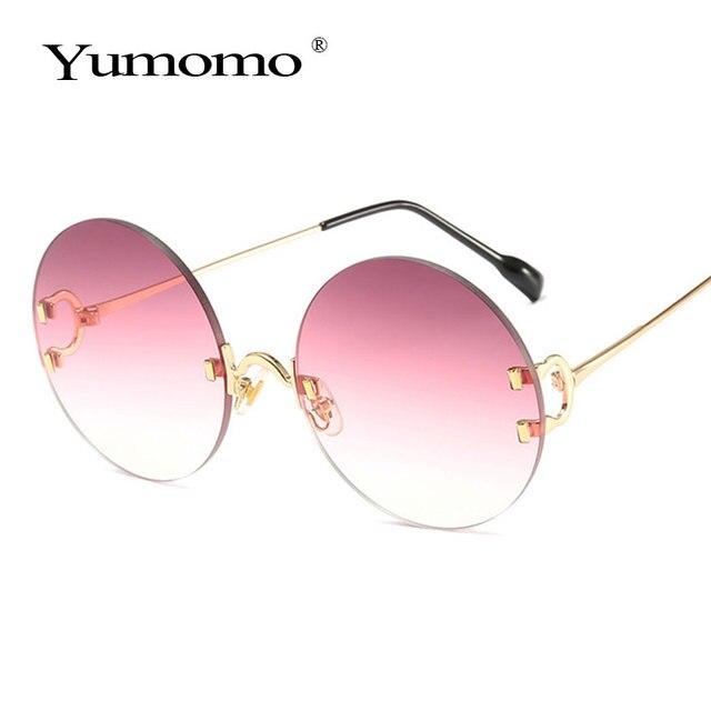 Vintage Round Sunglasses Women Ocean Color Lens Mirror Sun Glasses Female Brand Design Metal Frame Circle Glasses Modis Oculos 4