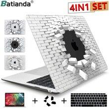 2020 хрустальный чехол для Macbook Air 13,3 11 Pro Retina 12 13 15, жесткий чехол для сенсорной панели ноутбука, чехол для клавиатуры, защитная пленка для экрана