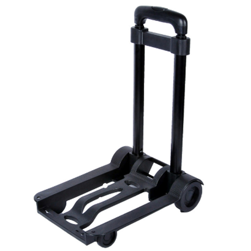Folding Portable Travel Trailer Domestic Luggage Cart Portable Hand Cart For Shopping Trolley Shopping Cart