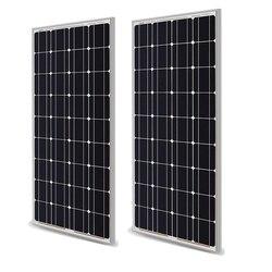100w Pannello solare 200w 18V 12V 24V Luce di peso del Vetro Temper Mono Pannello Solare cristallino cellule di batteria solare del caricatore