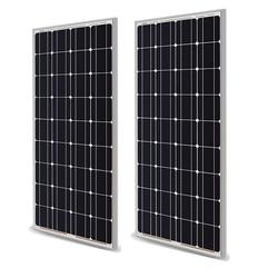Panel Solar 100w 200w 18V 12V 24V peso ligero templado Panel Solar células monocristalinas cargador de batería solar