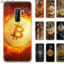 Desxz Bitcoin Gold Hard Cover For Samsung A7 A9 A5 A3 A10 A30 A40 A50 A70 A8 A6 Plus Phone Case(China)