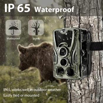 HC801A 20MP Hunting Trail Camera Wildlife Camera Night Vision Motion Activated Trail Camera Trigger Scouting Waterproof 1